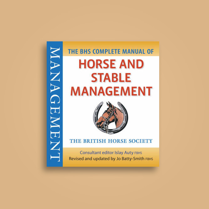 bhs complete manual of horse and stable management pdf