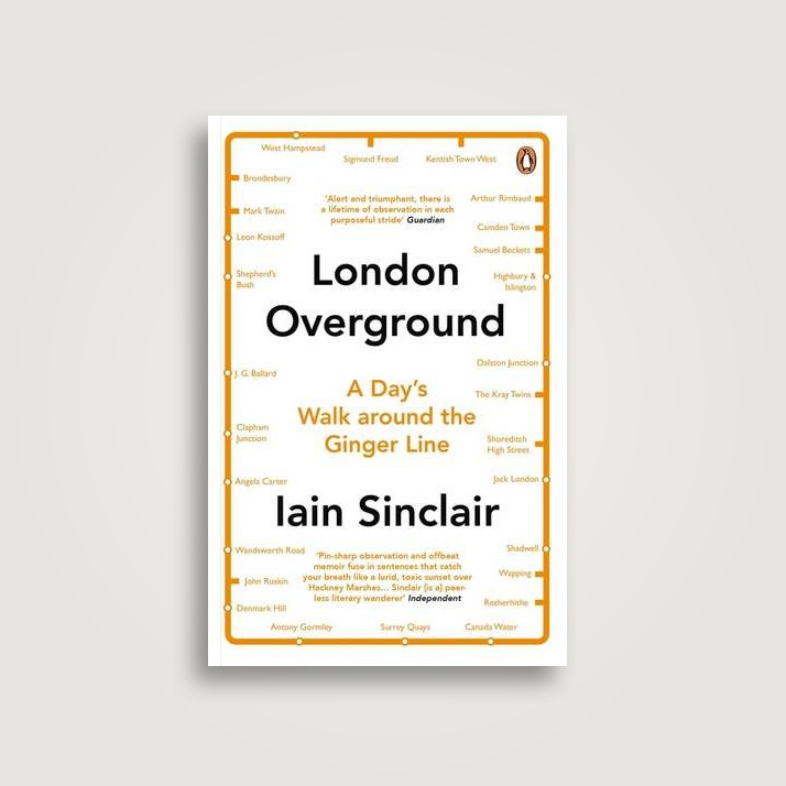 London Overground: A Day's Walk Around the Ginger Line - Iain Sinclair