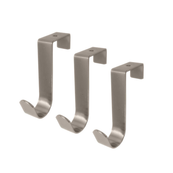 Select Hardware Over The Door 3 Column Hooks (1 Pack)