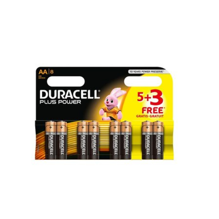 Duracell Plus Power AA 53 Pack