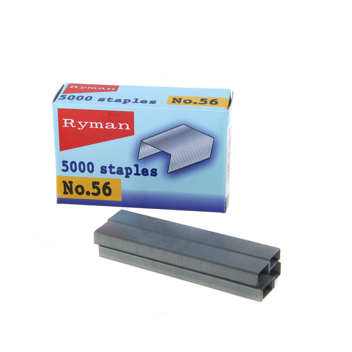 Ryman No.56 Staples – Pack of 5000
