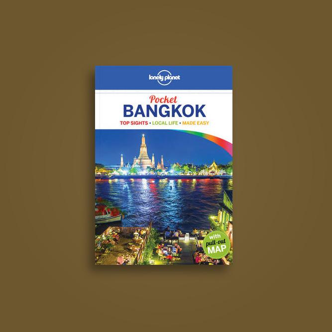 lonely planet pocket bangkok travel guide