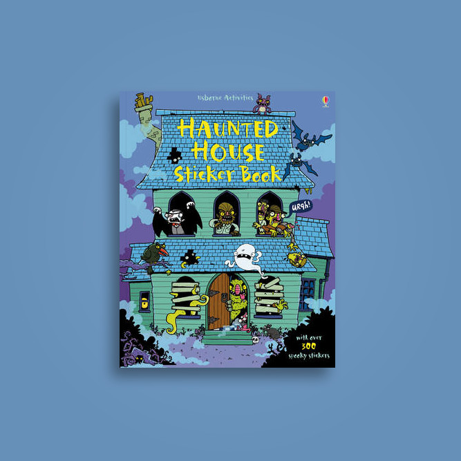 Haunted House Sticker Book - Kirsteen Rogers Near Me | NearSt