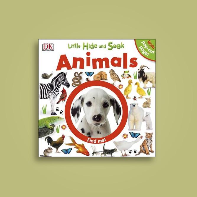 little hide and seek animals dk
