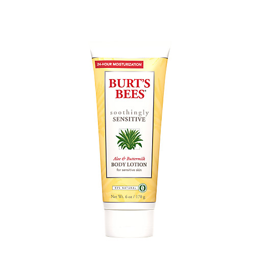 Burt's Bees Soothingly Sensitive Aloe & Buttermilk Body Lotion for Sensitive Skin, 170g