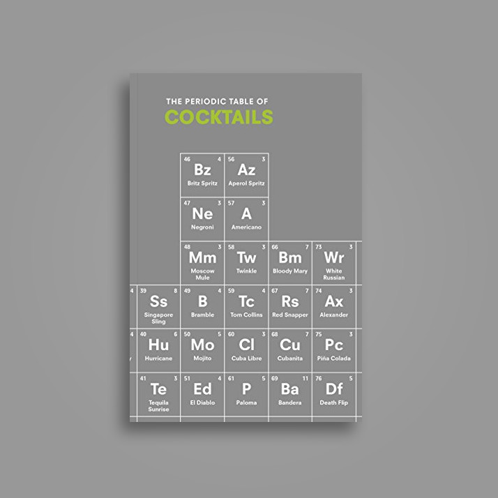 The Periodic Table of Cocktails - Emma Stokes