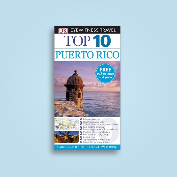 DK Eyewitness Top 10 Travel Guide: Puerto Rico - undefined Near Me | NearSt