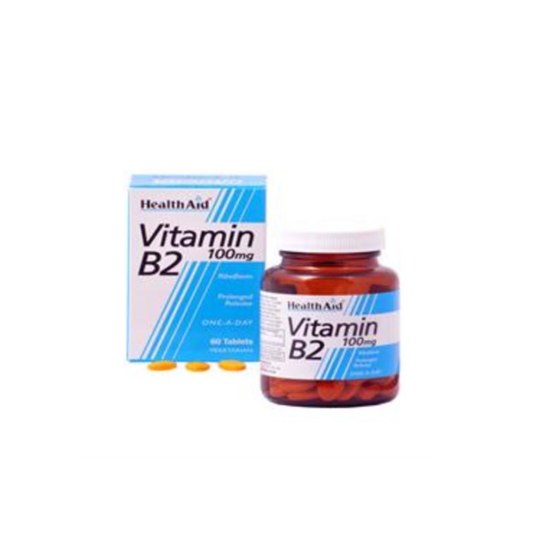 Vitamin B2 (Riboflavin) 100mg