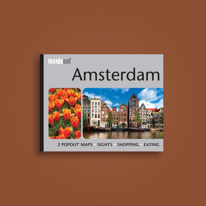 Amsterdam Inside Out Travel Guide: Pocket Travel Guide for Amsterdam Including 2 Pop-Up Maps