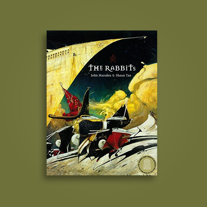 the rabbits by shaun tan Buy the rabbits uk ed by shaun tan (isbn: 9780734411365) from amazon's book store everyday low prices and free delivery on eligible orders.