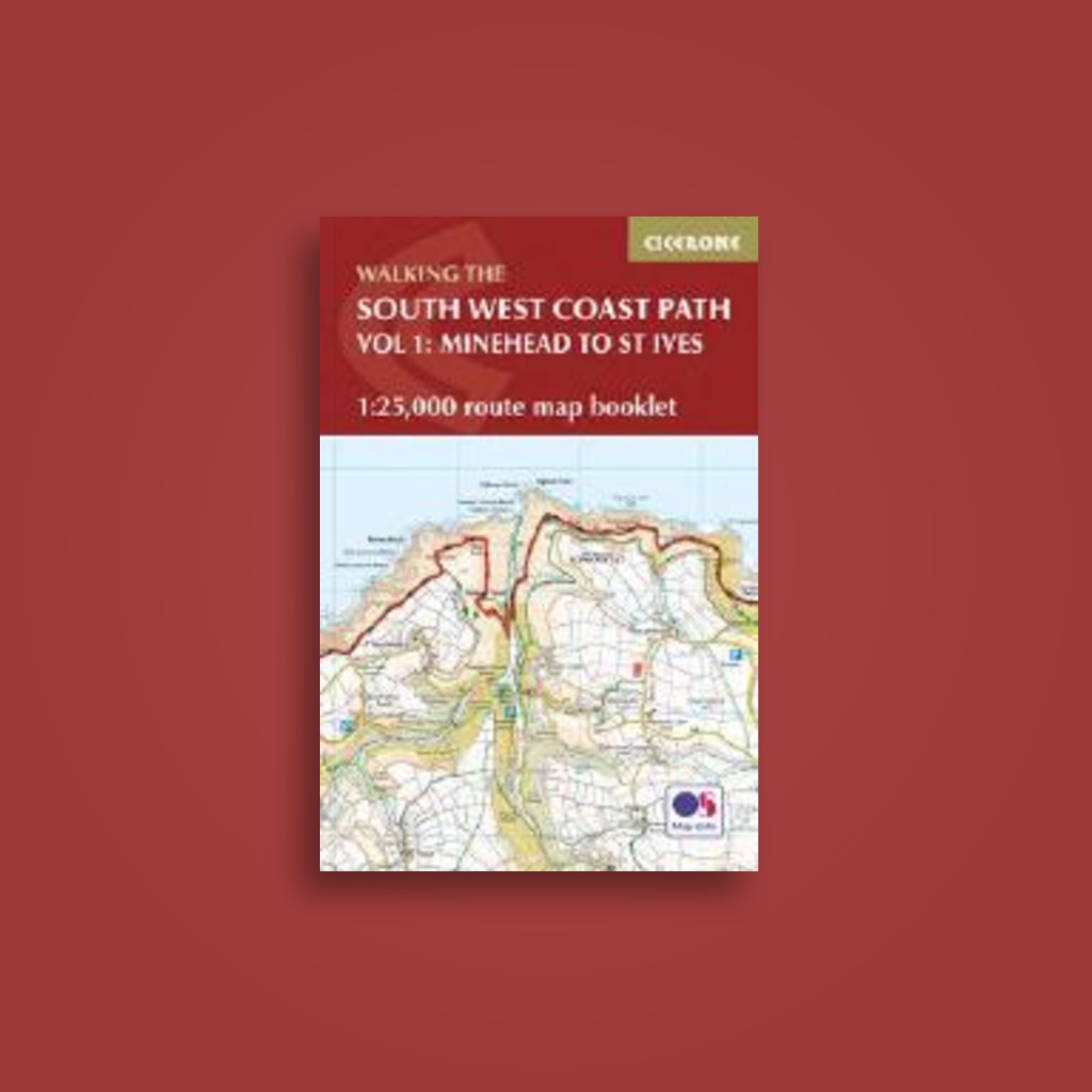 the south west coast path map booklet
