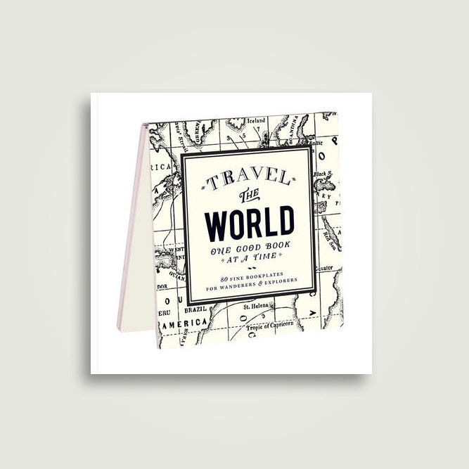 alice scott vintage prints travel the world bookplates