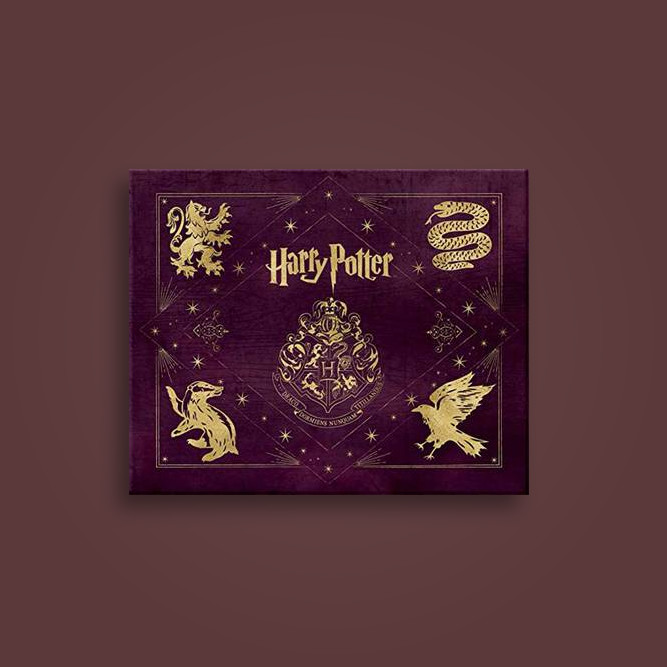Harry Potter: Hogwarts Deluxe Stationery Set - Insight Editions