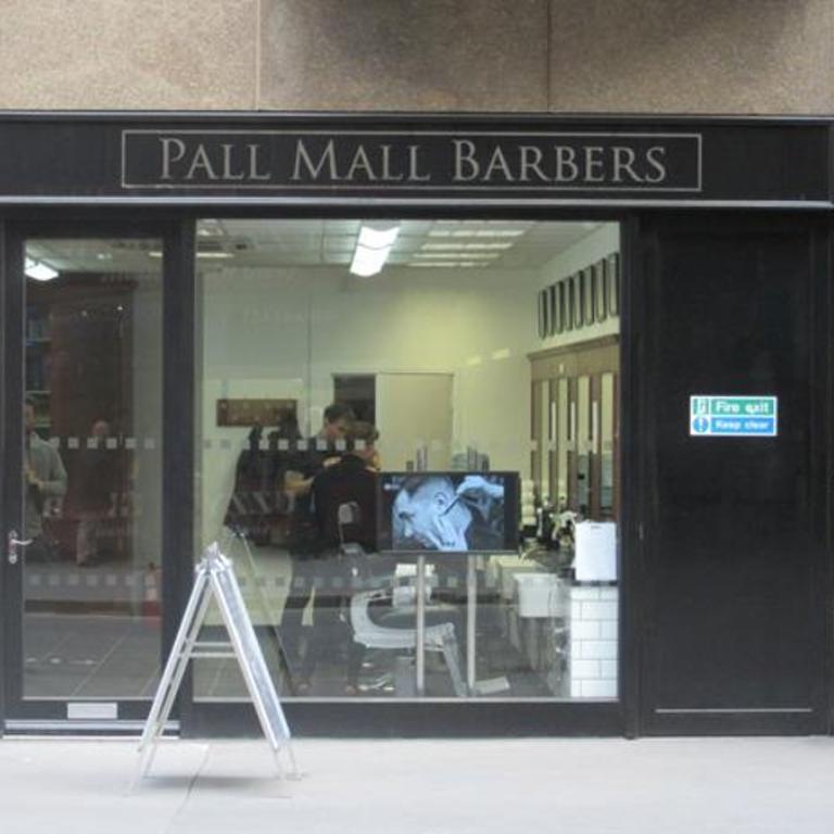 Pall Mall Barbers Bishopsgate