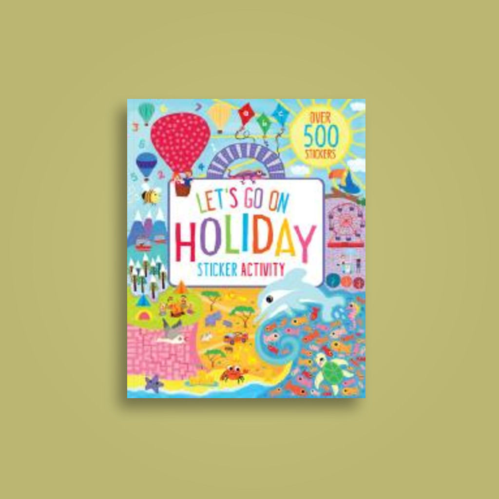 Let's Go on Holiday Sticker Activity