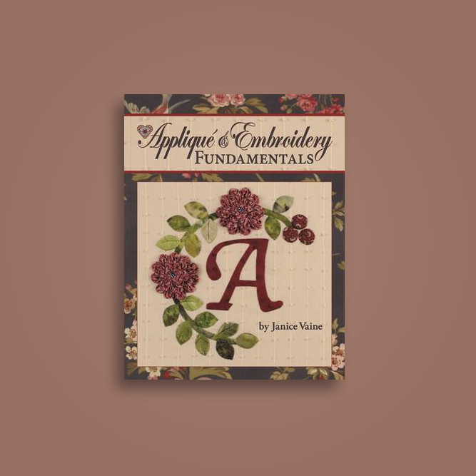 Applique Embroidery Fundamentals In The Classroom With Jan Vaine