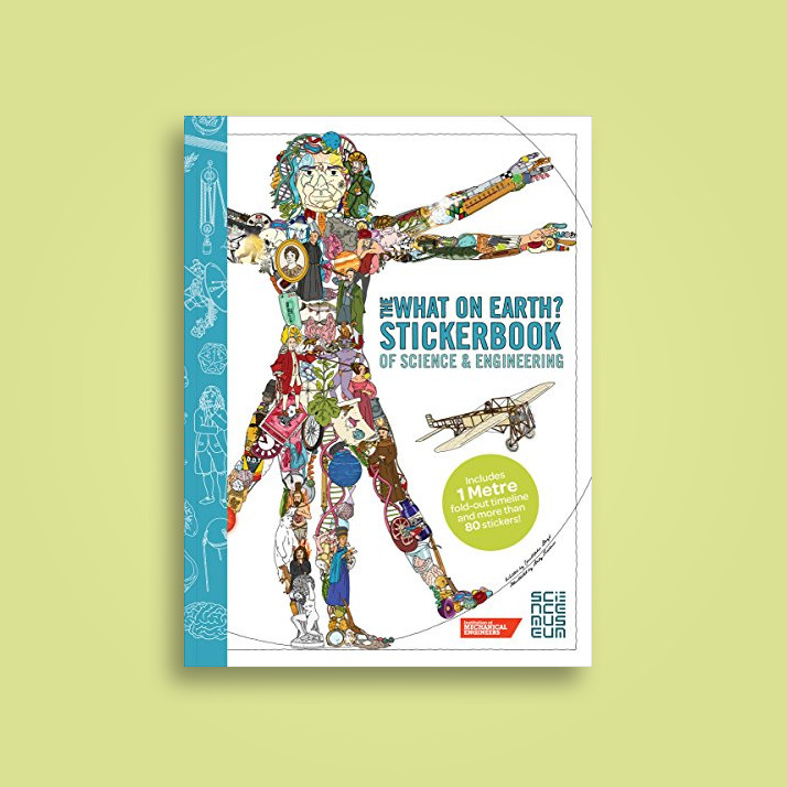 The What on Earth? Stickerbook of Science: Build Your Own Stickerbook  Timeline of Amazing Scientists and Inventions! - Christopher Lloyd Near Me  |
