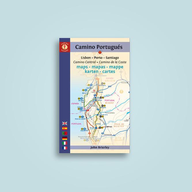 Camino Portugues Karte.Camino Portugués Maps Mapas Mappe Karten Cartes Lisboa