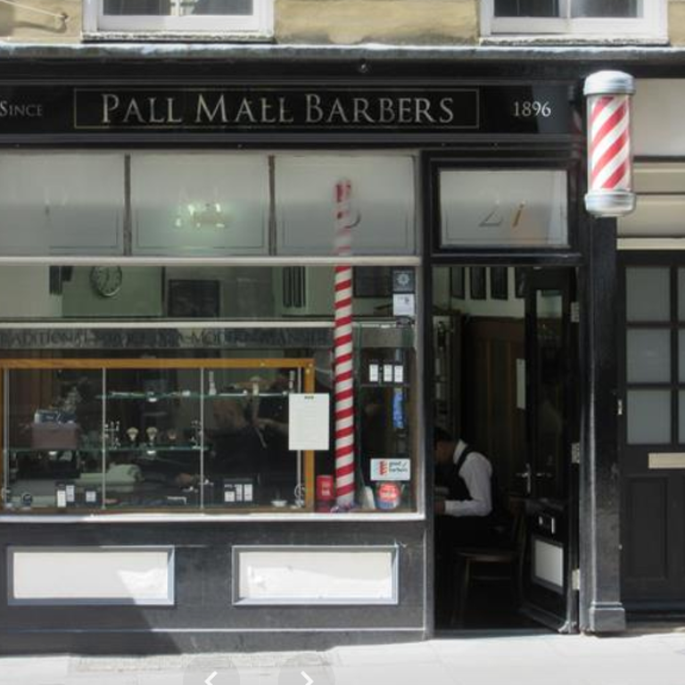 Pall Mall Barbers Trafalgar Square