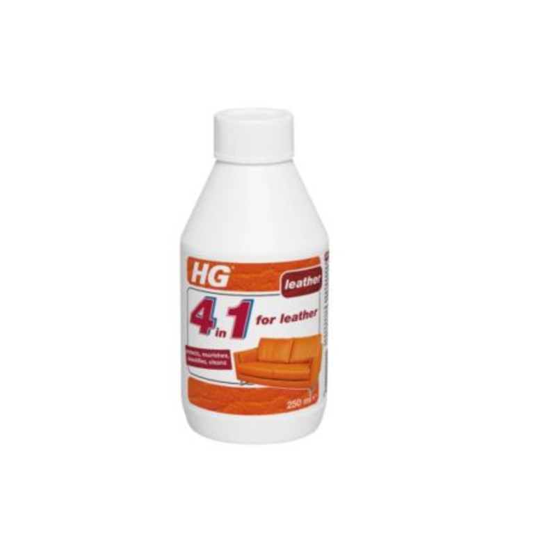 HG 4 In 1 Leather Treatment & Cleaner  250 ml