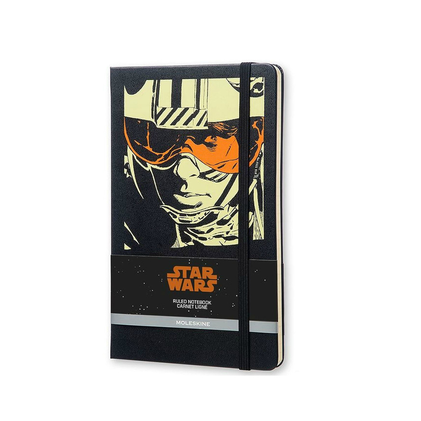 Moleskine Large Star Wars Luke Skywalker Limited Edition Hard Ruled Notebook