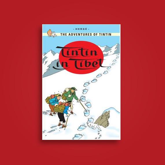 Tintin in Tibet - Herge
