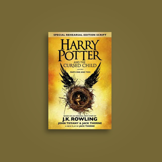 Harry Potter and the Cursed Child - Parts I & II (Special Rehearsal Edition): The Official Script Book of the Original West End Production - J.K Rowling