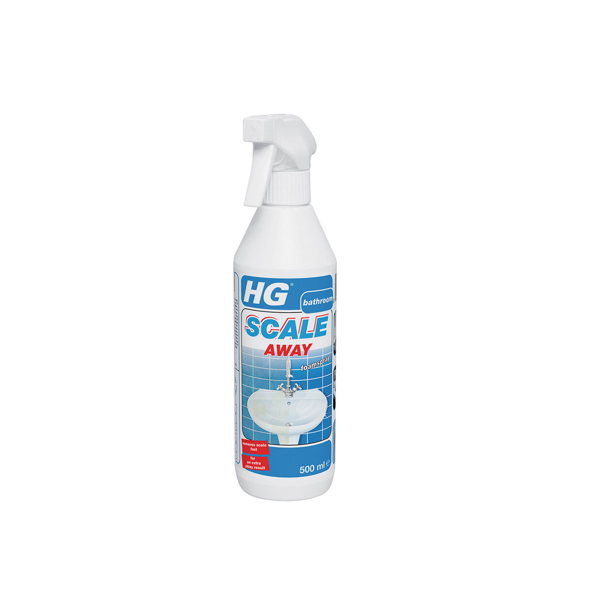 Hg Ceramic Hob Cleaner 500ml: HG Grease Away Kitchen Cleaner Spray 500 Ml