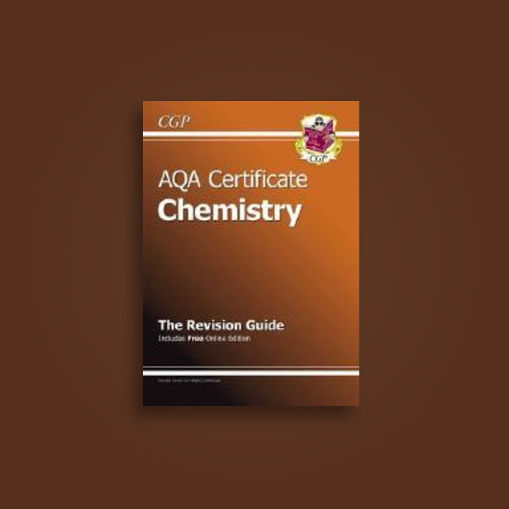 AQA Certificate Chemistry Revision Guide (with Online Edition) (A*-G Course