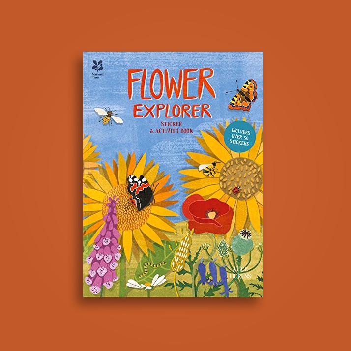 Flower Explorer: Sticker & Activity Book