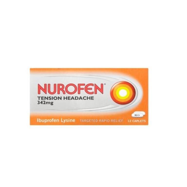 Nurofen Tension Headache 342mg 12 Caplets