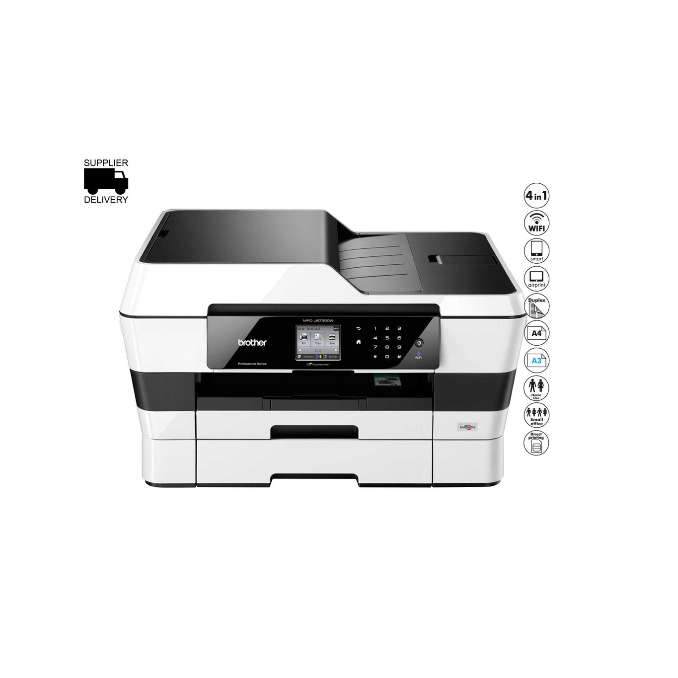 Scanner Near Me >> Brother Mfc J6720dw A3 Wifi Printer Copier Scanner Fax