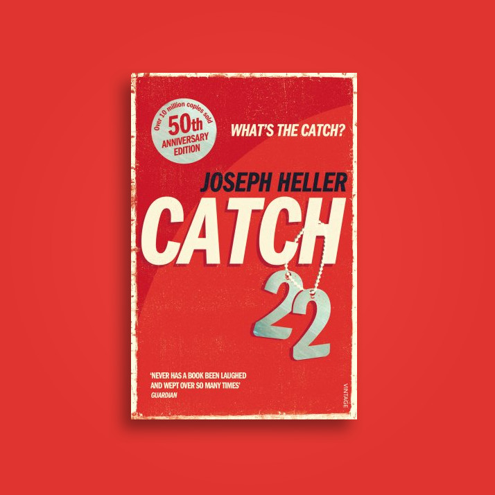a review of catch 22 by joseph heller This week is the 50th anniversary of joseph heller's satirical war novel catch-22 for some, it's an opportunity to reflect on heller's innovative injection of absurdist humour into the american.