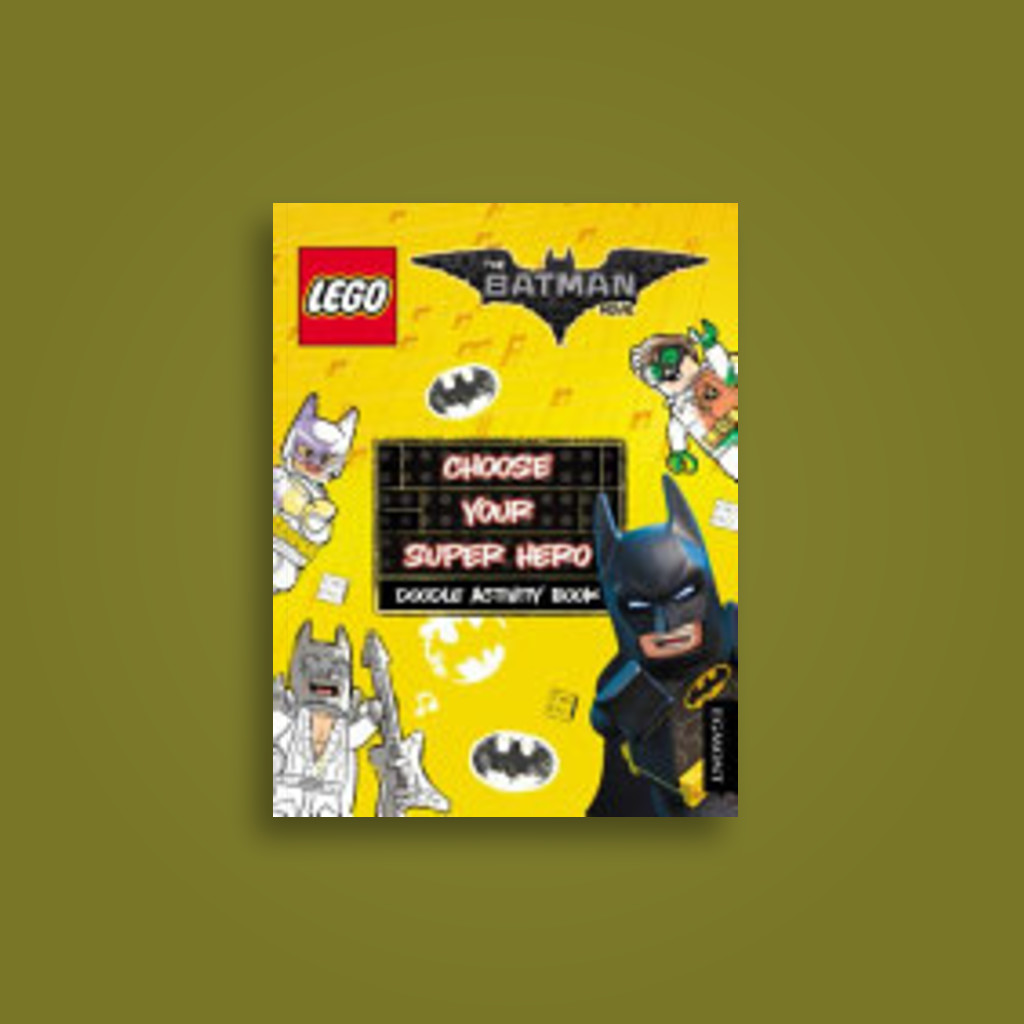 LEGO the Batman Movie: Choose Your Super Hero Doodle Activit