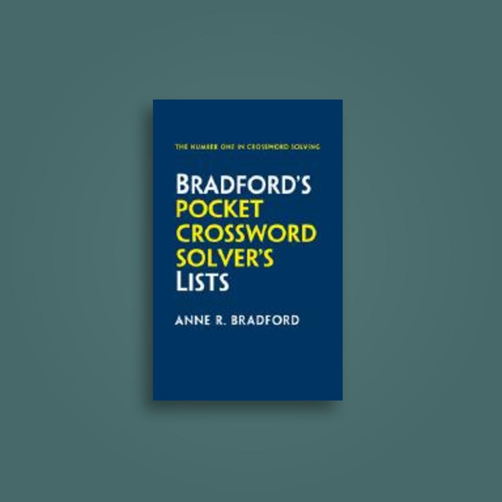 Collins Bradford\'s Pocket Crossword Solver\'s Lists: 75,000 Solutions ...