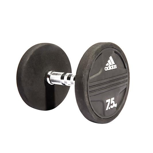 Adidas Dumbbell, 7.5kg, Black