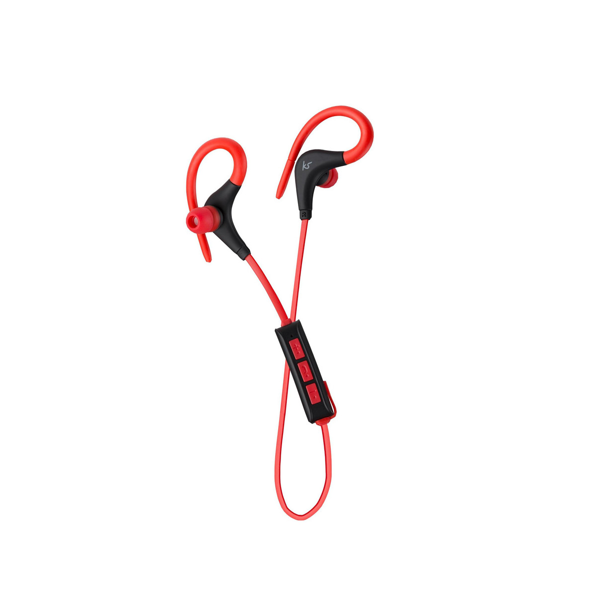 4dbbf6c1be9 Kitsound Race Sports Bluetooth Wireless Earphones – Red - Kitsound  Near Me | NearSt Find and buy products from real shops near you
