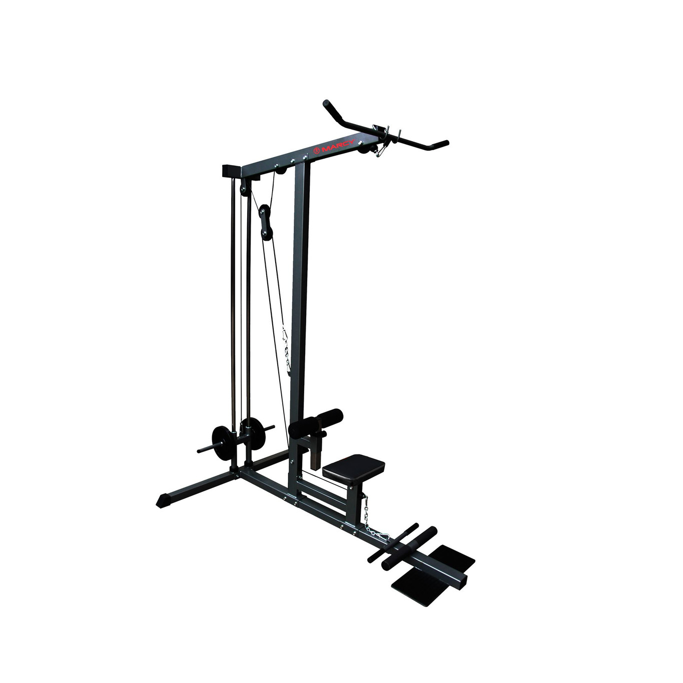 marcy eclipse pu1000 lat pulldown low pulley home gym marcy near