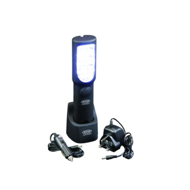 Hands Free LED Inspection Lamp with Charging Cradle - Ring