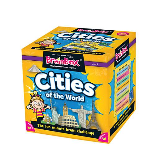 BrainBox Cities Of The World Challenge Game