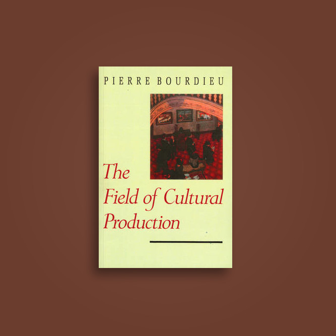 the field of cultural production essays on art and literature The paperback of the assuming boycott: resistance, agency and cultural resistance, agency and cultural production by field of cultural production - essays on art.