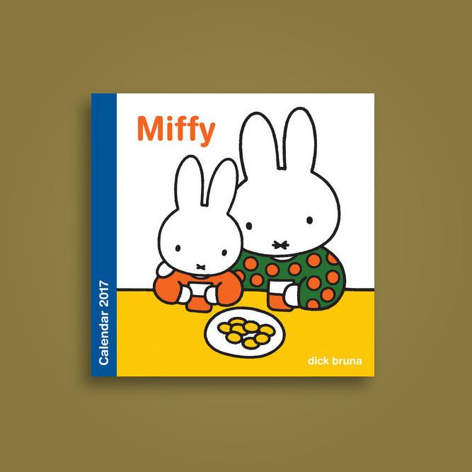 Miffy Wall Calendar 2017