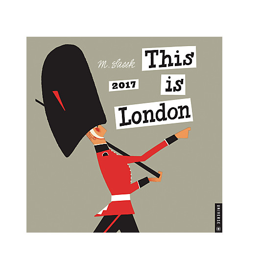 This Is London 2017 Calendar
