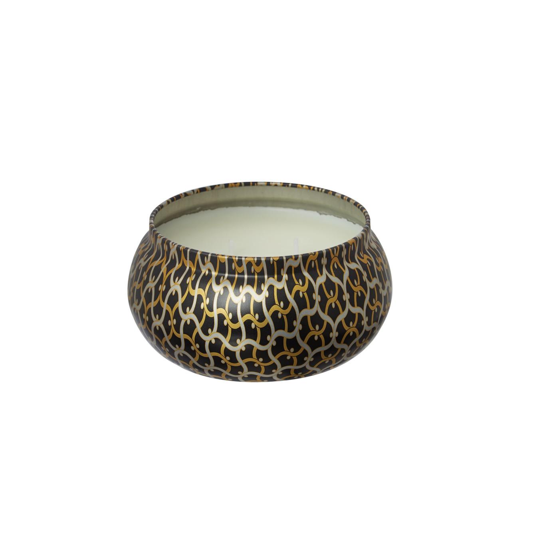 Voluspa Ambre Lumiere 11oz 2 wick candle in printed tin - Voluspa