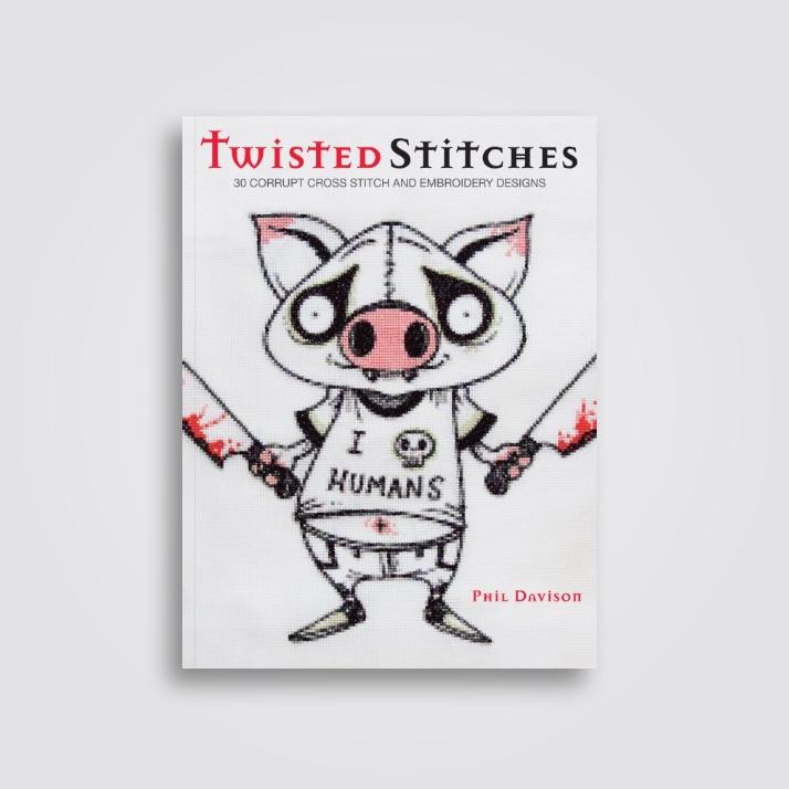 Twisted Stitches 30 Corrupt Cross Stitch Embroidery Designs