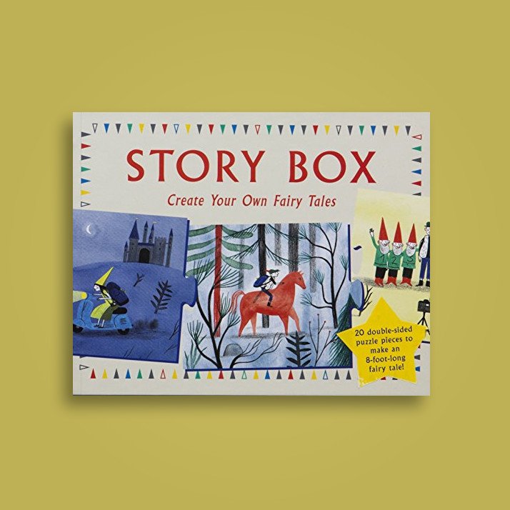 Story Box: Create Your Own Fairy Tales - Anne Laval