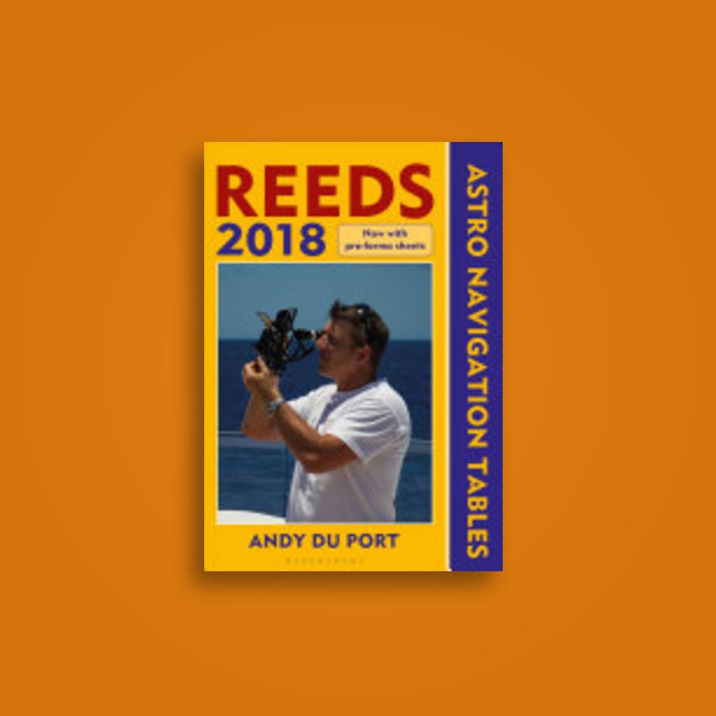 Reeds Astro Navigation Tables 2018 - Andy Du Port