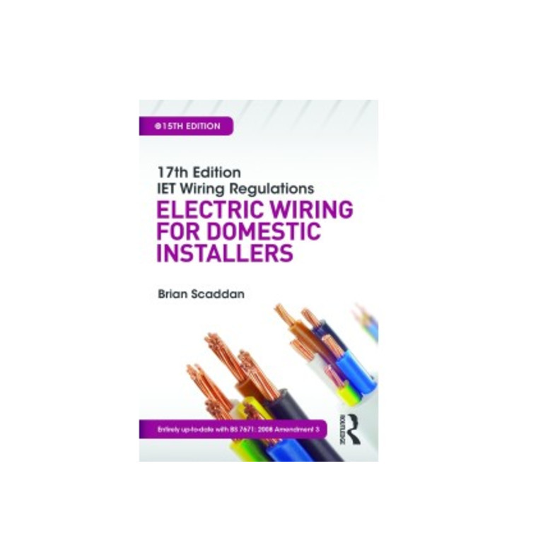 Fine 17Th Edition Iet Wiring Regulations Electric Wiring For Domestic Wiring 101 Relewellnesstrialsorg