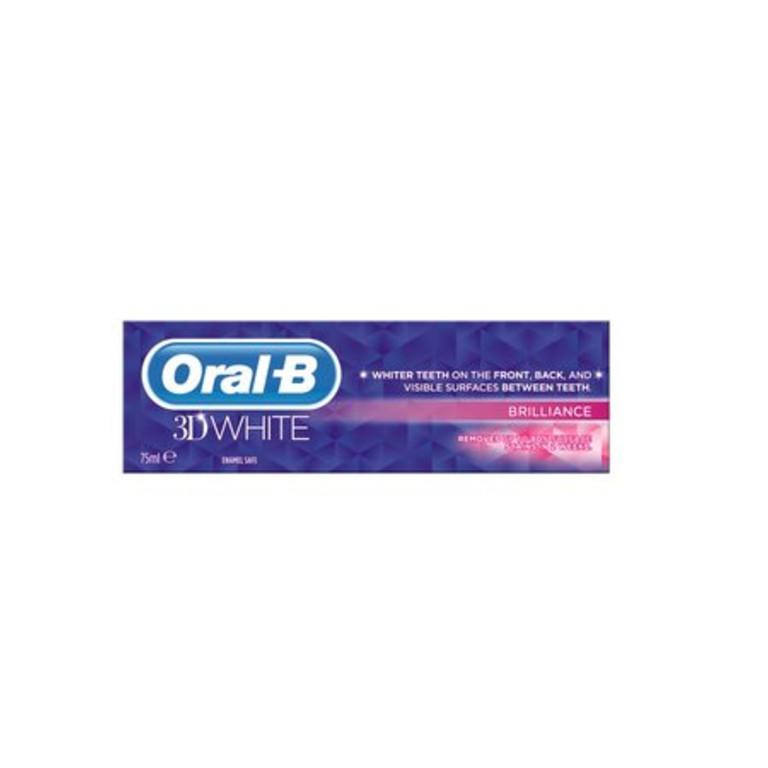 Oral B 3D White Brilliance Toothpaste 75ml