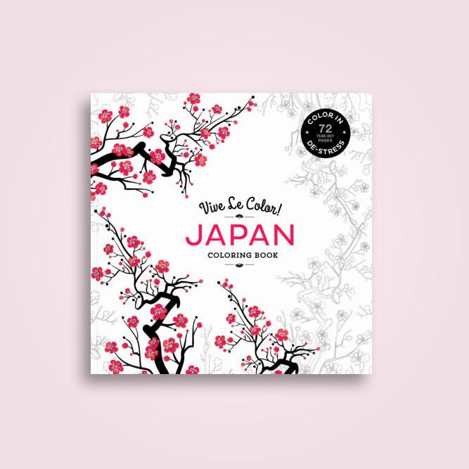 Vive Le Color Japan Adult Coloring Book In De